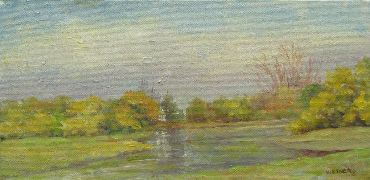 Linda wesner marcia evans gallery for Fishing ponds columbus ohio