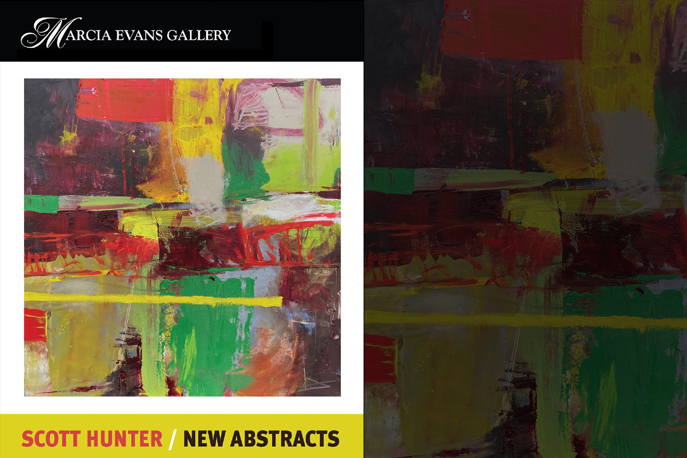Scott Hunter, New Abstracts Gallery Show in the Short North