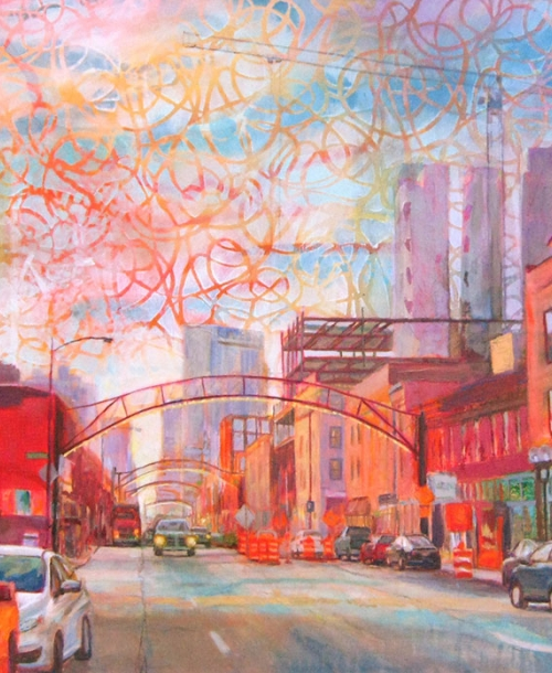 It'll Be Grand by Robie Benve, Painting in Columbus Ohio